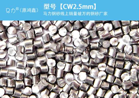 高锰钢丝切丸CW2.5mm