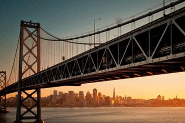 旧金山奥克兰海湾大桥涂装工艺